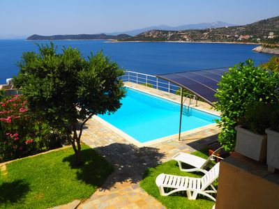 Photo for HORIZON BLUE VILLA - Private Pool - Hot Tubs -  Amazing Sea View