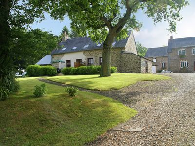 Photo for House with stunning views across the meadows, 30min from Mont Saint-Michel!