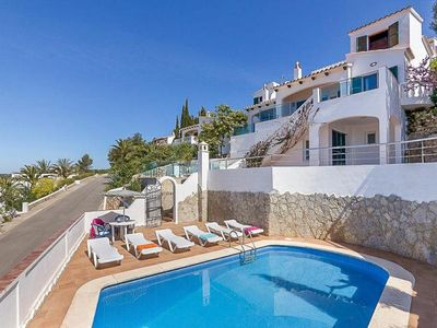 Photo for 6 bedroom Villa, sleeps 13 with Pool, Air Con, FREE WiFi and Walk to Shops