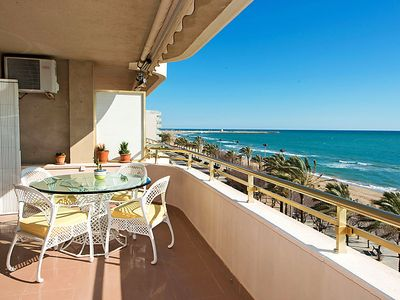 Photo for 4 bedroom Apartment, sleeps 6 in La Platja de Calafell with Air Con and WiFi