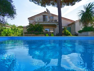 Photo for VILLA WITH PRIVATE HEATED POOL CLOSE TO BEACHES AND SHOPS
