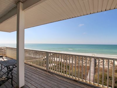 Photo for Gulf-front, pet-friendly, phenomenal views, private boardwalk, community pool