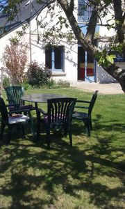 Photo for holiday house near beaches (300m), 6/8 people, enclosed garden