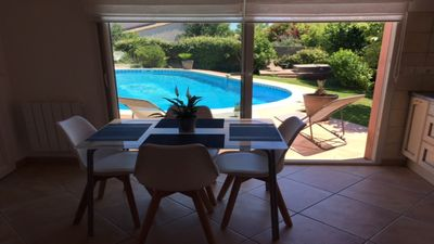 Photo for T2 apartment with pool sector Montpellier between sea and Cevennes