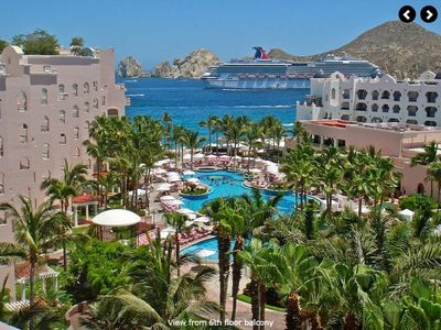 Photo for 3 Bedroom Penthouse Unit w Pool & Jacuzzi on the beach in Cabo San Lucas