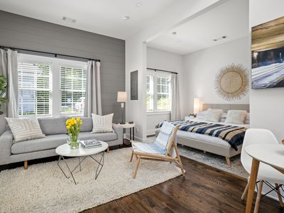 Photo for Sunny Carriage House | Inman Park | LOCAL
