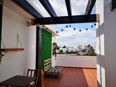 Photo for 2 bedroom duplex apartment in Cabanas de Tavira near the main street
