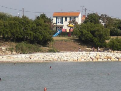 "Photo for Outstanding genuine old ""Fourasine"" house,  50m from beach, beautiful sea view"