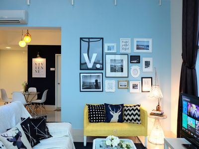 Photo for Vivienne   Penang Urban Seafront Holiday Home 海景套房