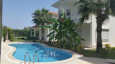 Photo for The villa with 2 bedroom in a quiet green complex  in 300m from the sea
