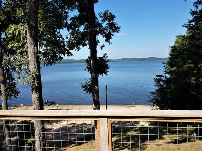 Photo for Newly Renovated Lakeside Cottage, Beautiful Lake Views With Adjacent Boat Ramp.