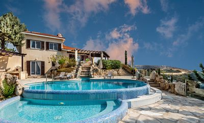 Photo for ⚡Vacation Like The Gods!⚡ Panoramic 4B/3B Olympus Mansion with Magnificent Pool!
