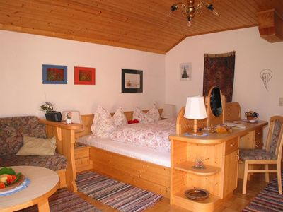 "Photo for Holiday apartment ""Fichte"" / 2 bedrooms / B - Family farm Mesner - Herzlich - Harmonisch"