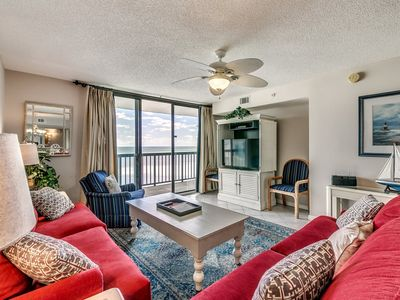 Photo for 16th Floor Oceanfront Conto, Jacuzzi Tub, Indoor Pool | Ocean Bay Club - 1609