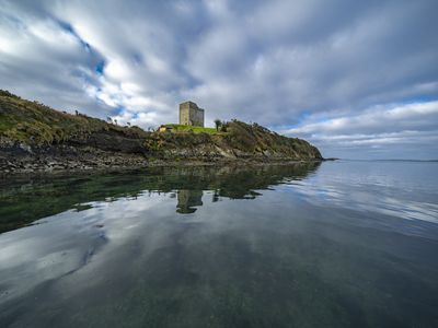 Photo for Historic Tower House -Wildest  place to stay at Roaring Water Bay