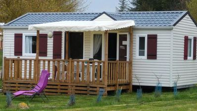 Photo for Camping les Calquieres **** - Mobil-Home CONFORT Happy 3 rooms 4/5 people + dishwasher