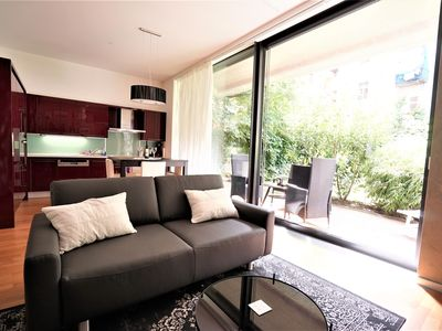 Photo for Luxury Downtown Apartment with Garage