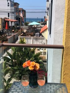 Relax and enjoy the ocean view from one of several patios.