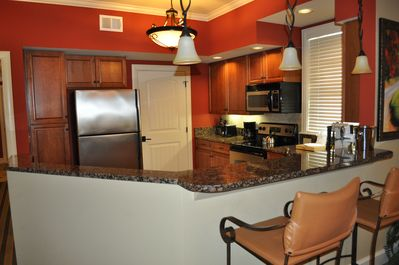 Spacious Gourmet Kitchen. Laundry Room located off Kitchen.