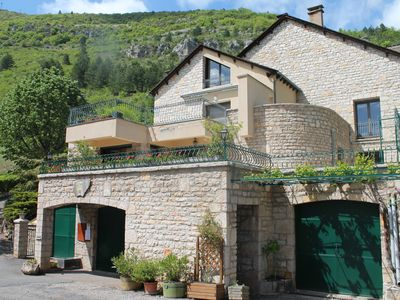 Photo for Apartment in Sainte Enimie Le Vignot in the heart of the Tarn gorges