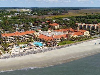 Photo for Oceanfront King & Prince North Villa with Resort Access