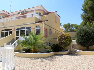 Photo for The ideal home, outdoor space, games room, 3 bed 2 bath in El Galan