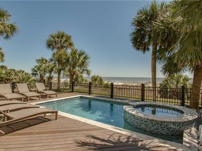 Photo for 1 Guscio | RENOVATED for 2019 | Direct Oceanfront | FREE Pool Heat | Game Room | Forest Beach