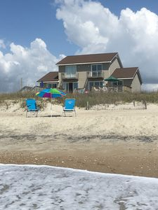 Photo for OCEANFRONT 4-Bed HOUSE @ Condo Price! Great View; Private! All New Beds. No dogs