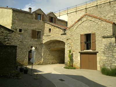 Photo for House of the 15th century, stone, in the heart of the ramparts, in quoted Templar