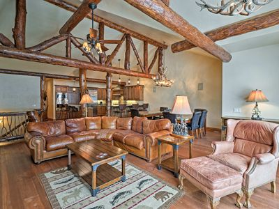 Photo for Whitefish Mountain Resort Cabin w/ Private Hot Tub