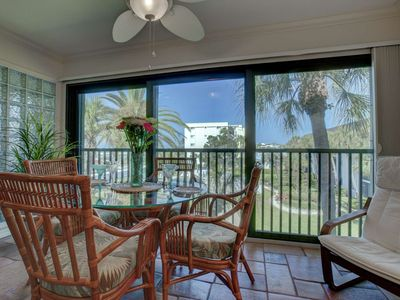 Photo for Steps From Siesta Key Beach, Heated Pool,  Free Wifi, Covered Parking