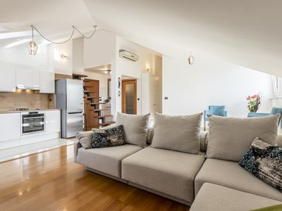 """Photo for """"Split under the stars"""" two story apartment in the city center"""