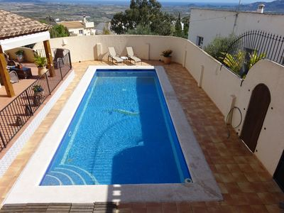 Photo for Villa in El Pinar, Bedar, Andalucia. Spacious two bedroomed villa & pool.