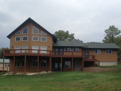Photo for Rocking Bar B Retreat- Majestic and Spacious Lake View on Table Rock