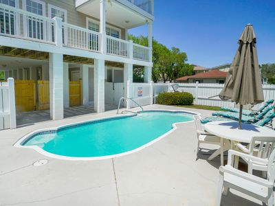 Photo for **ALL-INCLUSIVE RATES** Turtle Tides - Short Walk to Beach w/ Private Pool