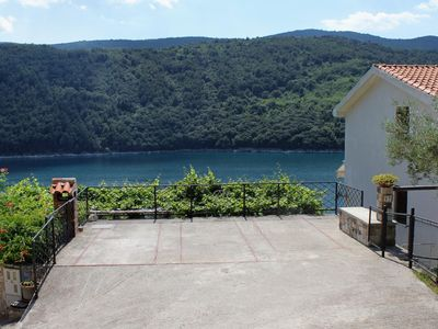 Photo for Two bedroom apartment near beach Duga Luka (Prtlog) (Labin)