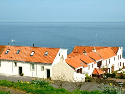 Photo for Seafront cottage With Stunning Panoramic Sea Views And Complimentary Wifi