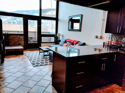 Photo for Vail Slope-View Modern Loft Condo with Easy Access to Vail Village
