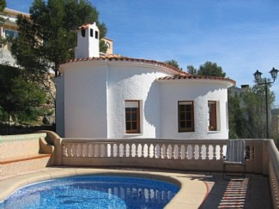 Photo for Detached 3-Bed Villa For 6 With Private Swimming Pool, Panoramic Views Over Vall