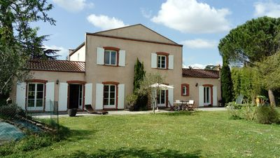 Photo for Large Family House - large plot and secure swimming pool, sleeps 10 promo