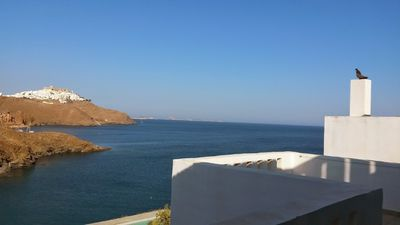 Photo for VILLA AT ASTYPALIA ON THE SEA WITH SPECTACULAR VIEW OF CHORA