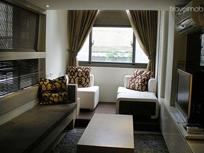 Photo for Nice decor 2 floor apt for 4 in CBD