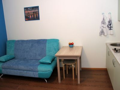 Photo for Cozy studio apartment  for two