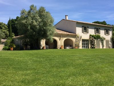 Photo for UZES, LUXURIOUS ARCHITECT AIR- CONDITIONED VILLA WITH SWIMMING-POOL (12 X 6 m.)
