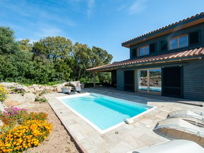 Photo for Villa 'Les Oliviers' with private pool closed to beach and mountain