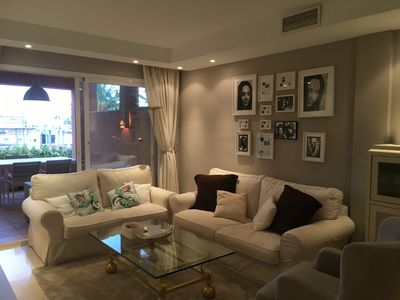 Photo for Chic apartment in the heart of Marbella's Golden Mile