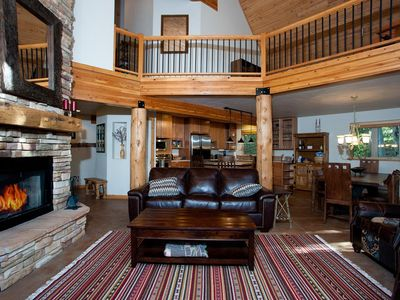 Photo for Secluded Mountain Home - 1.5 Acres - 1 Mile to Ski - Ping Pong Table