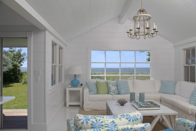 Great room - with doors to covered porch