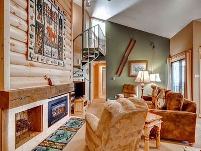 Photo for Bright & Colourful Premier Mountain Condo for 6 with Custom Finishes