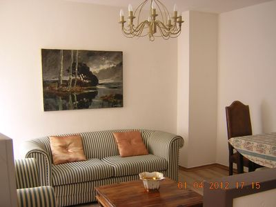 Photo for Comfortable and pretty two rooms in quiet and historic area.